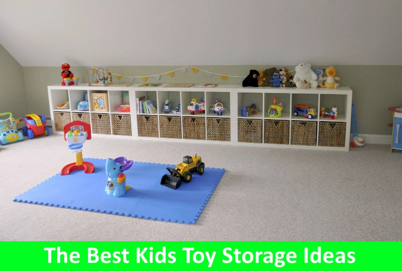 Toy Storage Ideas for Your Kids' Play